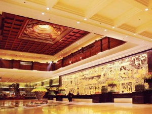 The lobby of Guangzhou Garden Hotel