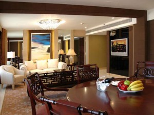 The Deluxe-suite of Guangzhou Garden Hotel