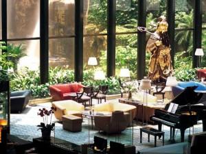 The Lotus-pond of Guangzhou Garden Hotel