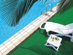 The Outdoor Swimming-pool of Guangzhou Garden Hotel