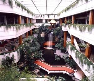 Lobby of 5 Star White Swan Hotel in Guangzhou, China