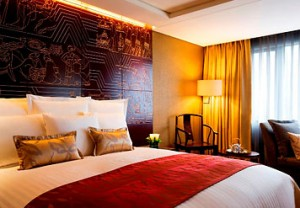 Guest Room of China Hotel, A Marriott Hotel, Guangzhou