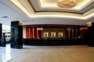 Lobby of Dong Fang Hotel in Guangzhou China