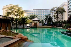Swimming Pool of Dong Fang Hotel in Guangzhou
