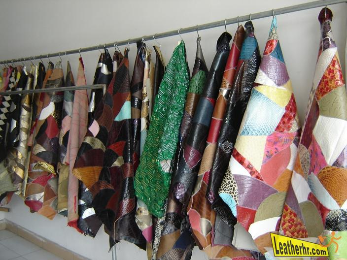 Leather Material from Huadu Shiling International Leather Wholesale Market
