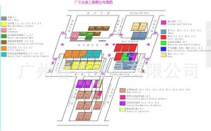The Booth Map for the 3rd Phase of the 114th Canton Fair