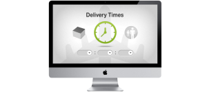 Confirm the delivery time