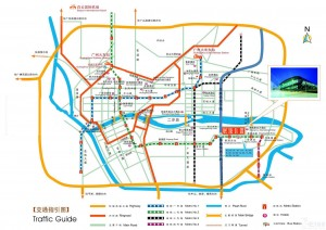 Map of Guangzhou -- Guangzhou Traffic Guide