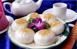 shengjian -- Fried bun round shape