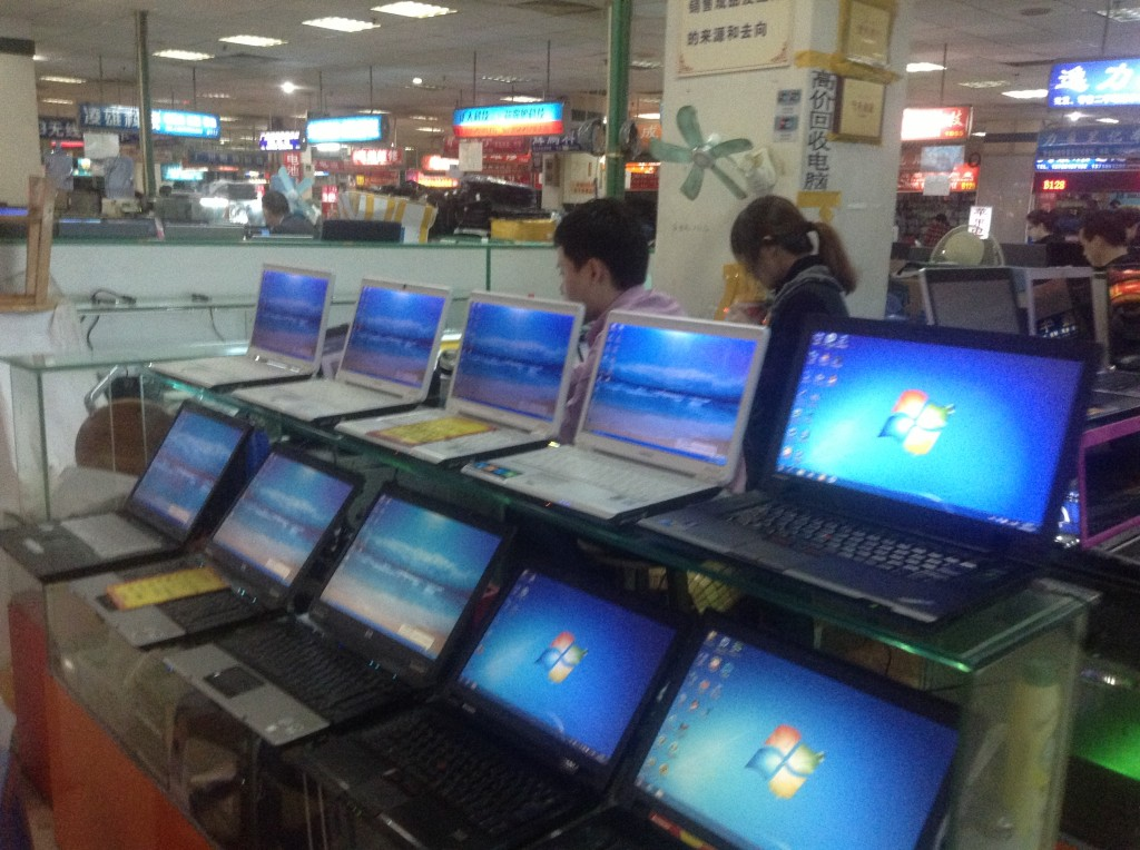Stores on the 1st Floor of Guangzhou Xiyang Second-hand Computer Market-2