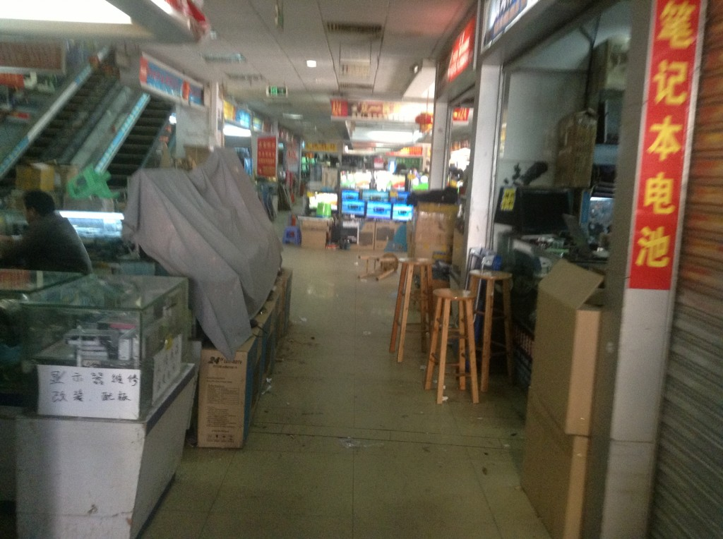 Stores on the 1st Floor of Guangzhou Xiyang Second-hand Computer Market-4