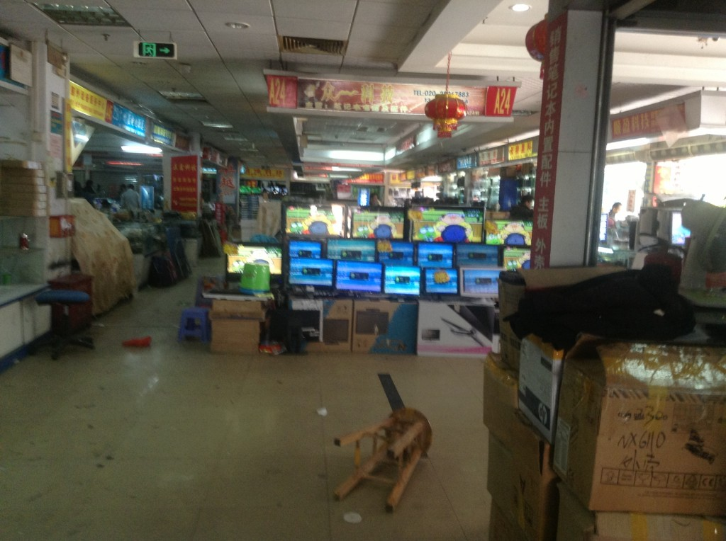 Stores on the 1st Floor of Guangzhou Xiyang Second-hand Computer Market-5