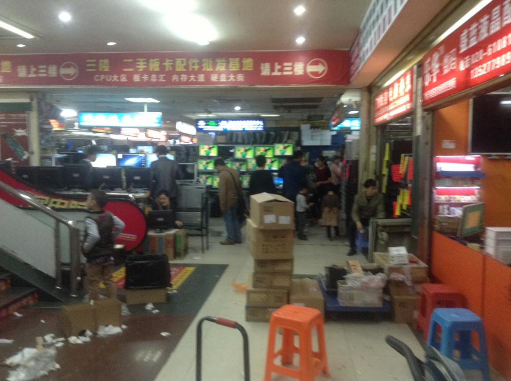 Stores on the 2nd Floor of Guangzhou Xiyang Second-hand Computer Market-2