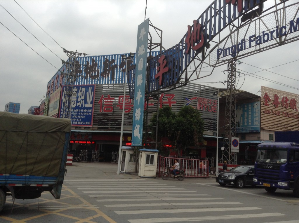 Stores in Pingdi Fabric Market in Foshan-1