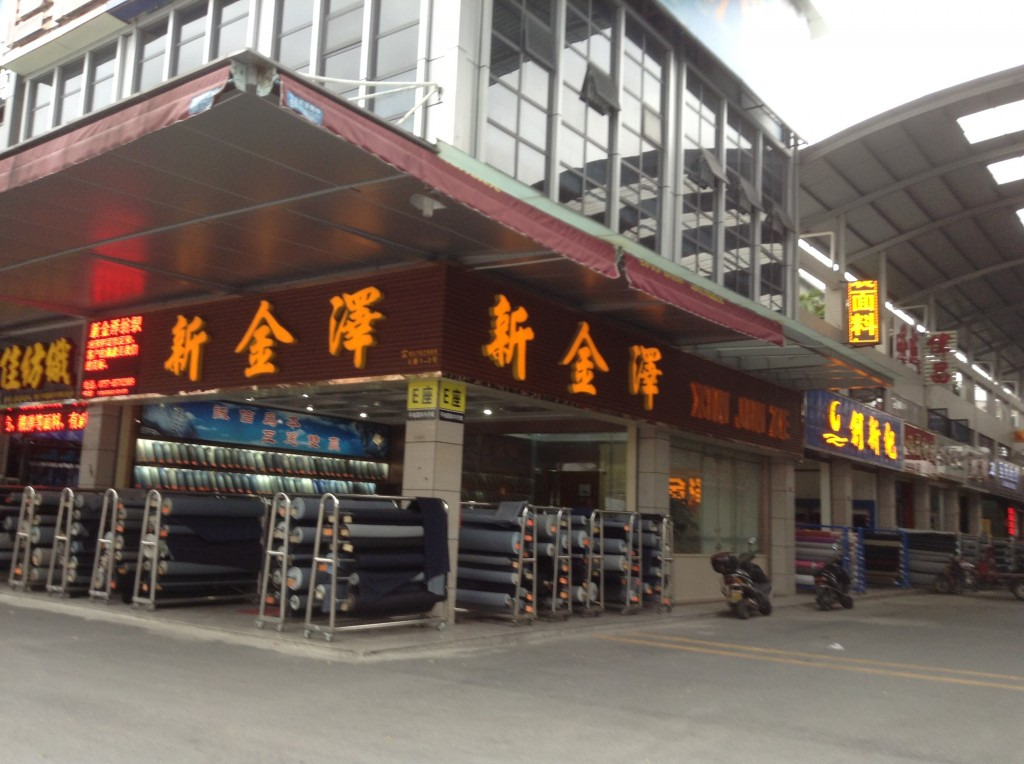 Stores in Pingdi Fabric Market in Foshan-5