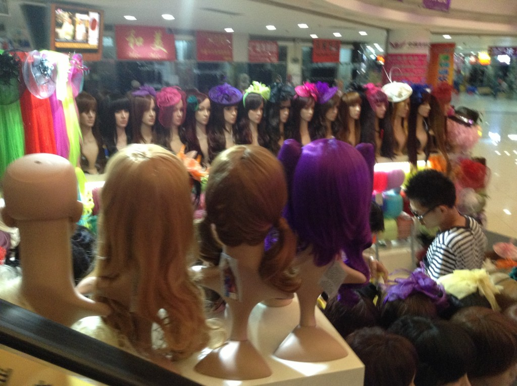 Virgin Hair in Guangzhou Beauty Exchange Center-2