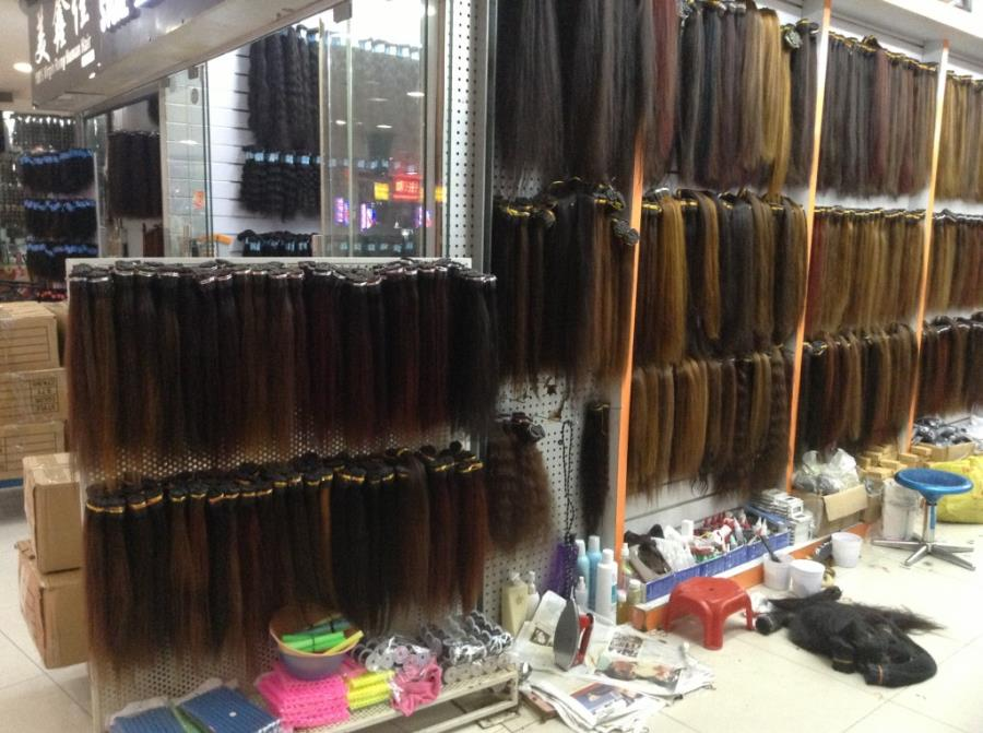 Virgin Hair in Guangzhou Beauty Exchange Center-3