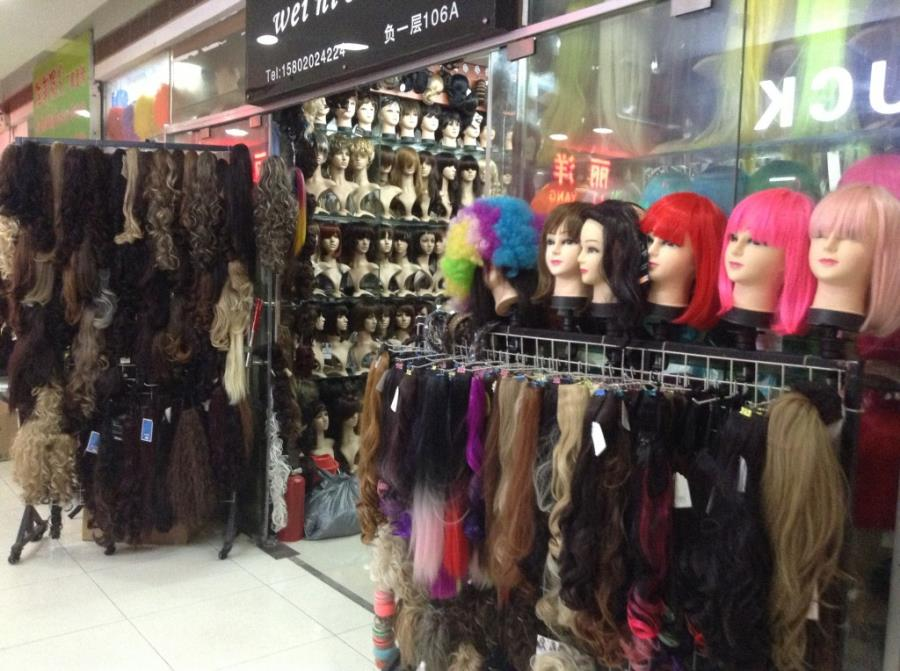 Virgin Hair in Guangzhou Beauty Exchange Center-9