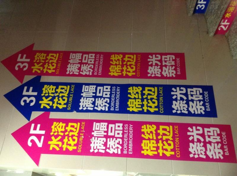 Billboard of Changjiang garment accessories center