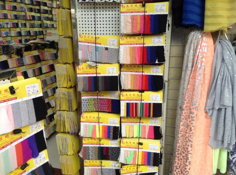 Fabric shop on the roadsize of zhongda fabric market-2
