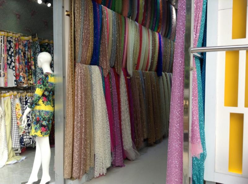 Fabric shop on the roadsize of zhongda fabric market-4