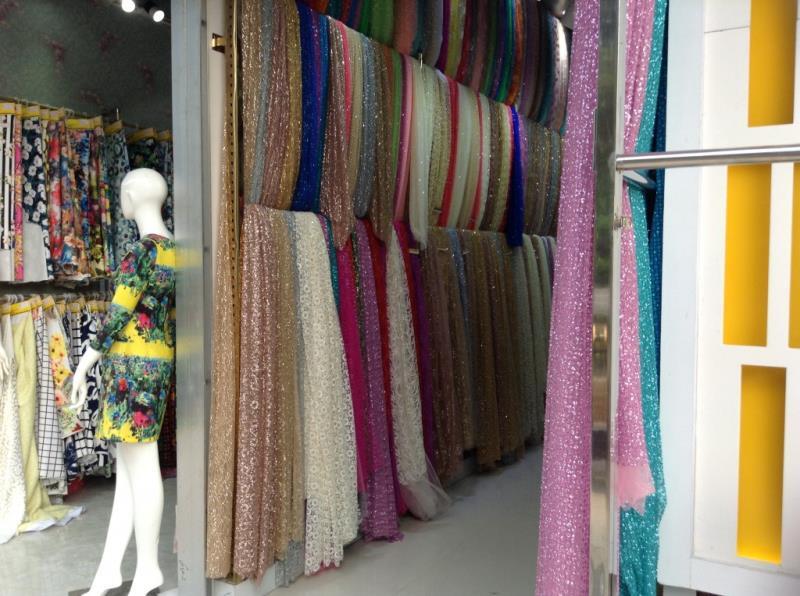 Fabric shop on the roadsize of zhongda fabric market-4