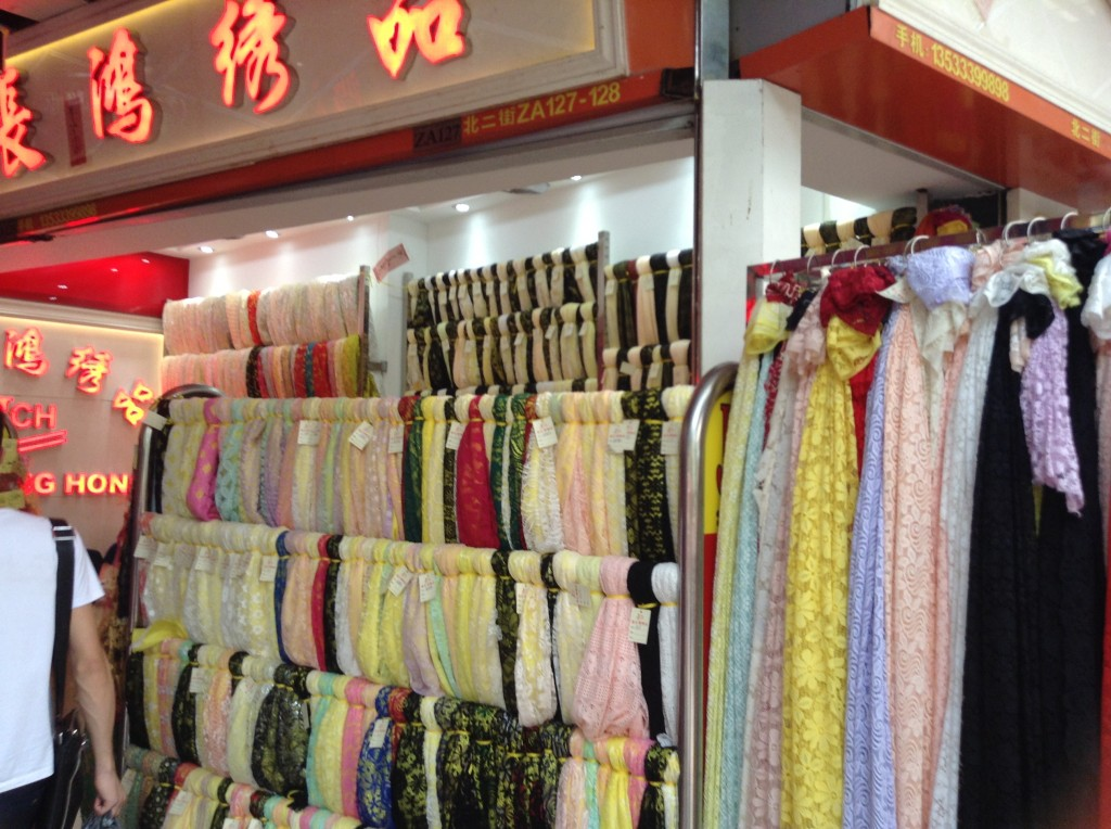 Shop in Changjiang Fabric Market-1