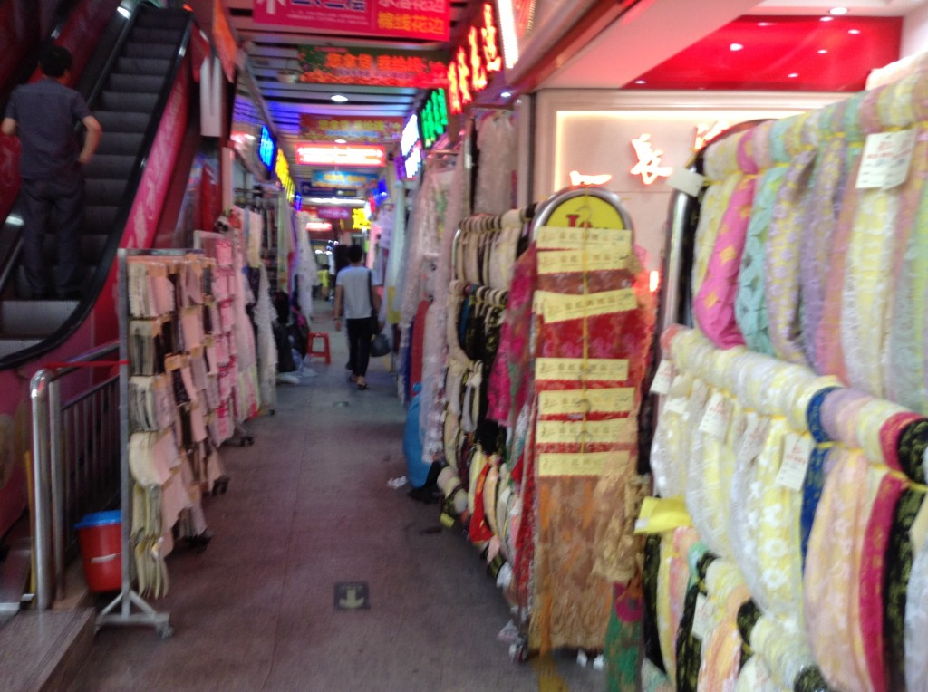 Shop in Changjiang Fabric Market-2