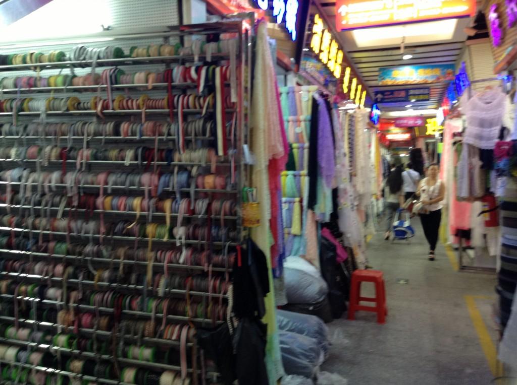 Shop in Changjiang Fabric Market-3