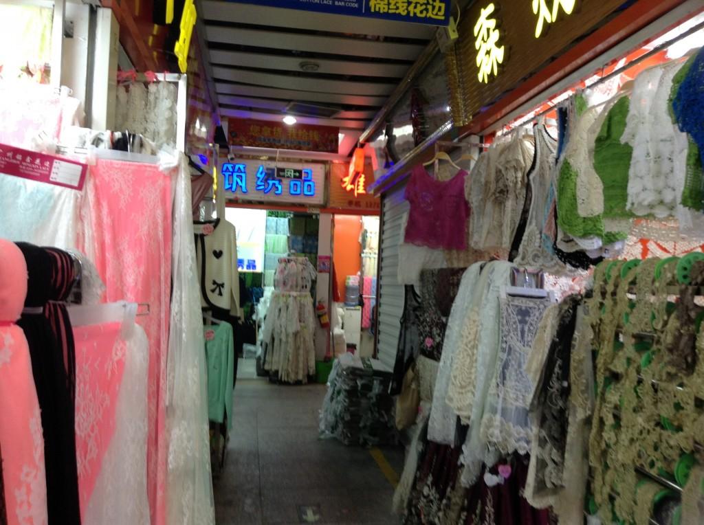 Shop in Changjiang Fabric Market-4