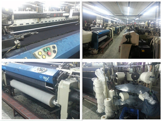 Weaving department of Zengcheng jeans factory