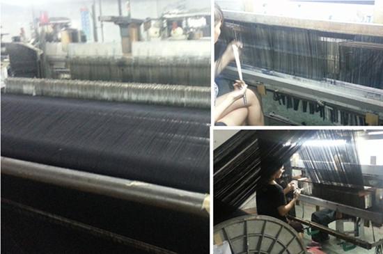 Weaving department