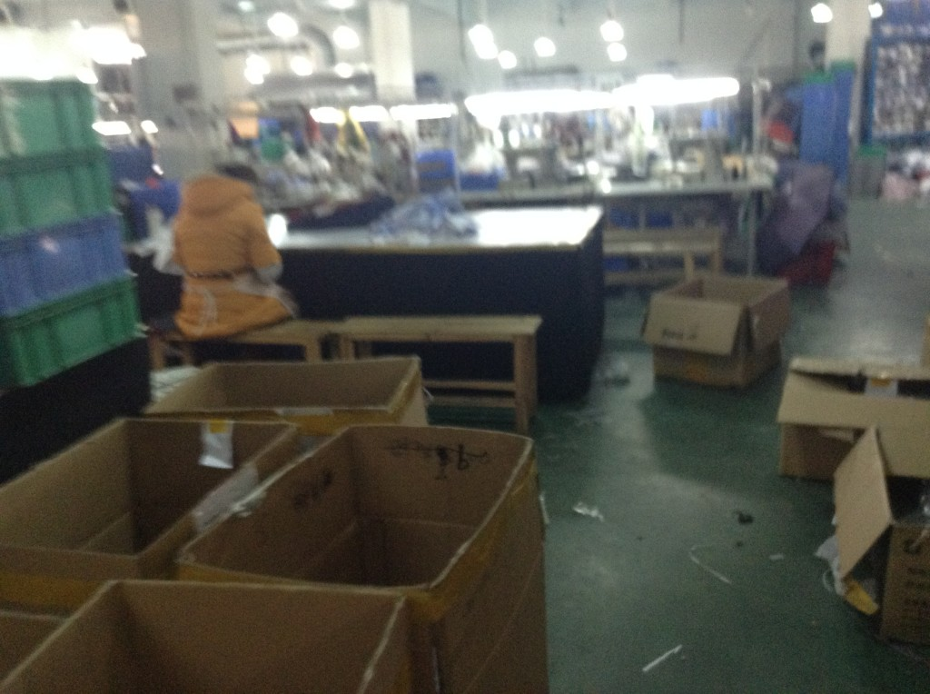 Clothes Factory in Guangzhou-1
