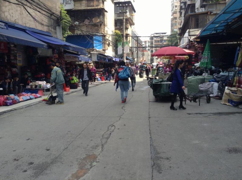 Shui Dian Street Handbag Wholesale Market in Guangzhou
