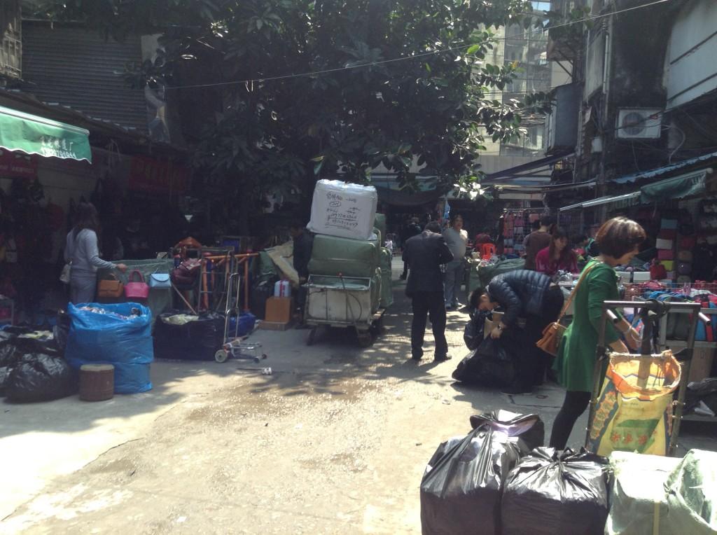 Small Street in Shui dian jie handbag market-2