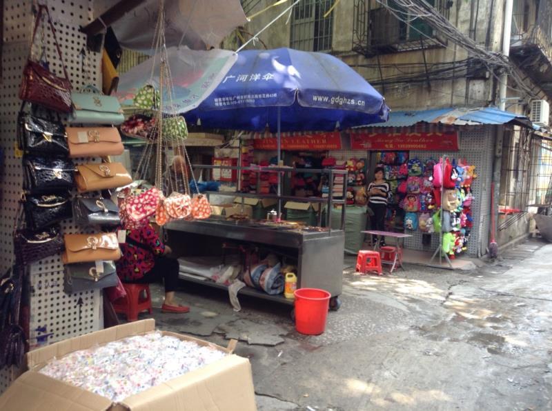 Small Street in Shui dian jie handbag market-3