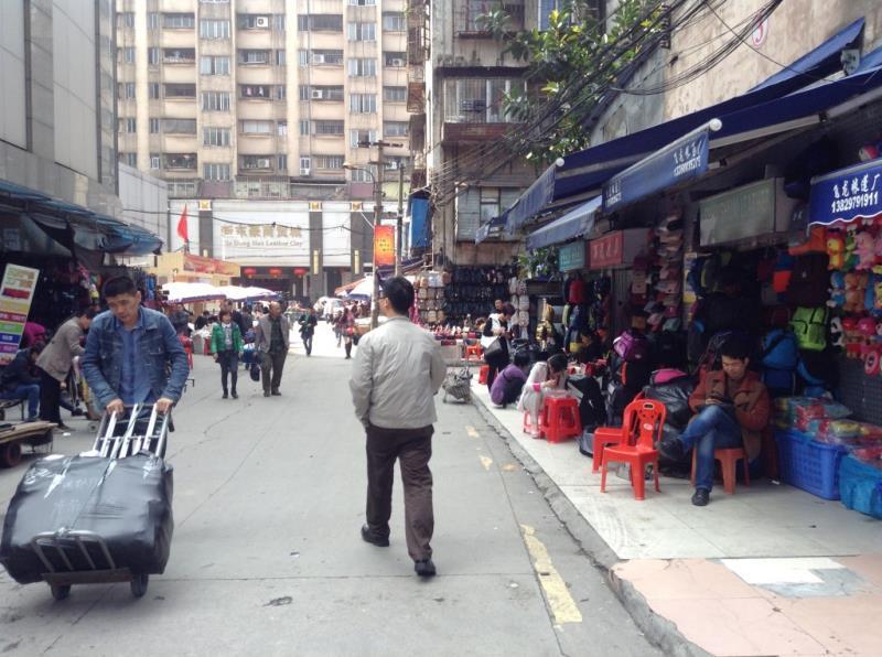 Small Street in Shui dian jie handbag market-5