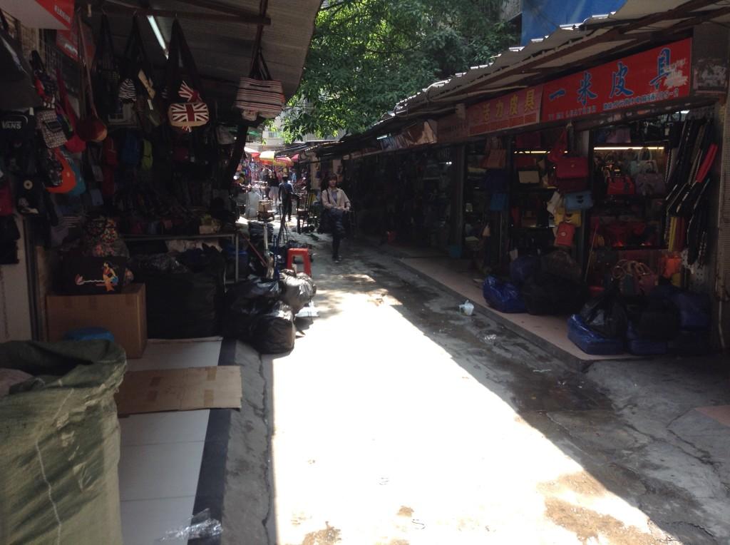 Small Street in Shui dian jie handbag market-6