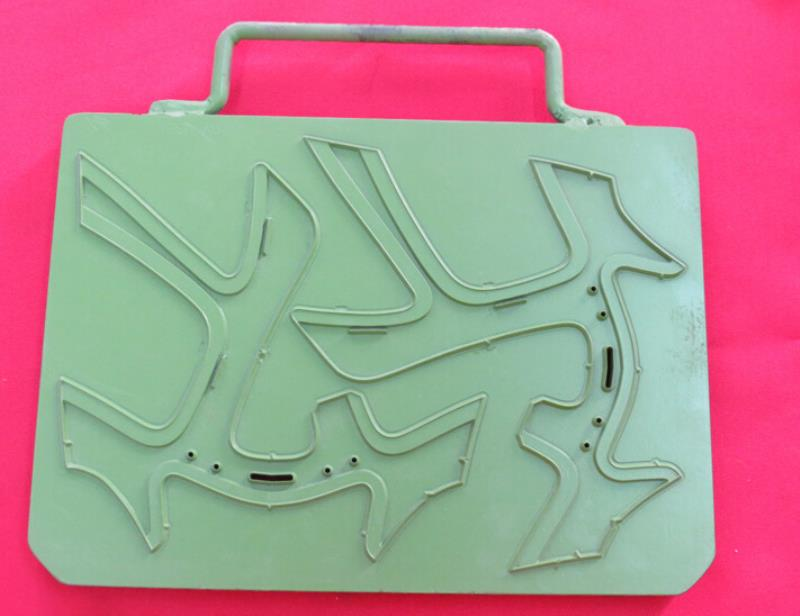 Handbag mold by CNC