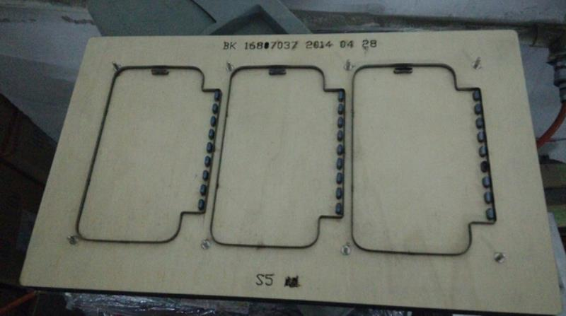 Mold for manufacturing phone cases in China