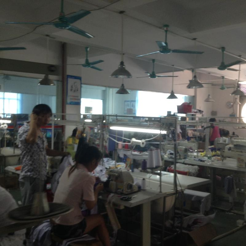 Sewing department from Guangzhou clothes factory