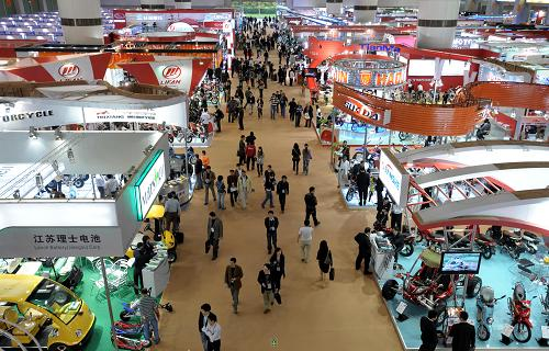 Exhibitors at Canton Fair