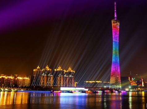 Canton Tower in Guangzhou, China