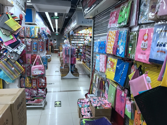 Inside Xingzhiguang stationery and sporting goods wholesale market in Guangzhou, China-1