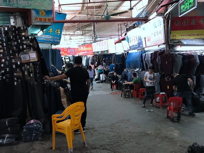 Jinpeng Clothing Market in Guangzhou, China-2