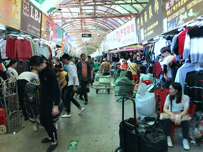 Jinpeng Clothing Market in Guangzhou, China-3