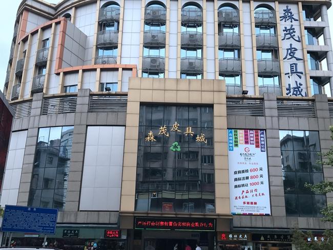 Senmao Leather City in China
