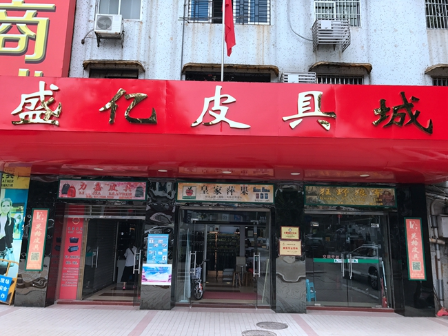 Shengyi Leather Market in China