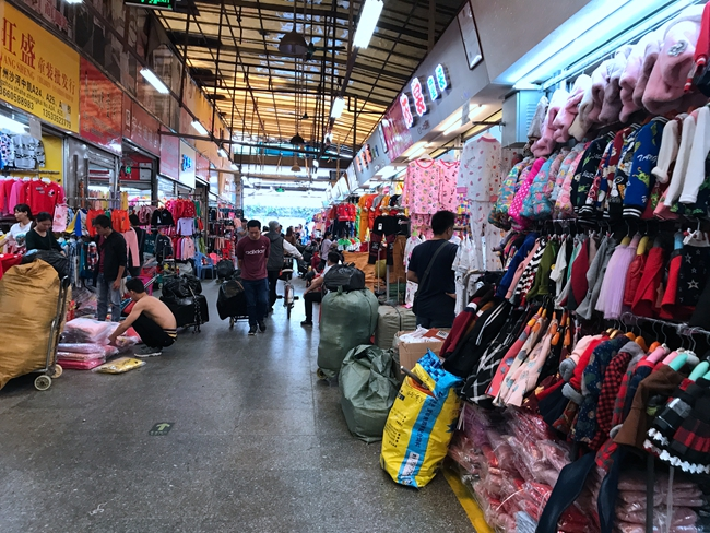 Zhongkai Nanmen Children's Clothes Market in Guangzhou, China-3