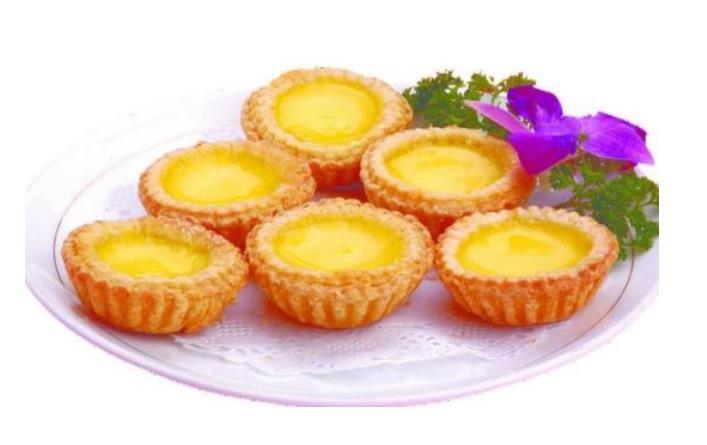 Cantonese Dim Sum--Egg Tarts